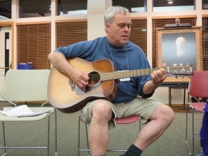 Jim Rust shares a song